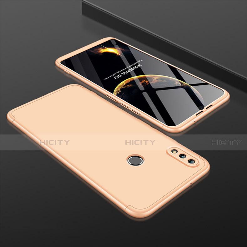 Handyhülle Hülle Kunststoff Schutzhülle Tasche Matt Vorder und Rückseite 360 Grad für Huawei Honor 8X Gold Plus