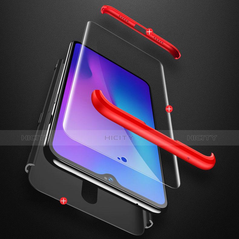 Handyhülle Hülle Kunststoff Schutzhülle Tasche Matt Vorder und Rückseite 360 Grad für OnePlus 6T groß