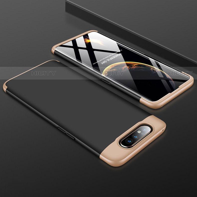 Handyhülle Hülle Kunststoff Schutzhülle Tasche Matt Vorder und Rückseite 360 Grad für Samsung Galaxy A80 groß