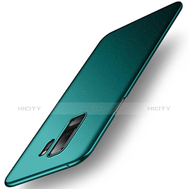 Handyhülle Hülle Kunststoff Schutzhülle Tasche Treibsand für Samsung Galaxy S9 Plus Grün Plus