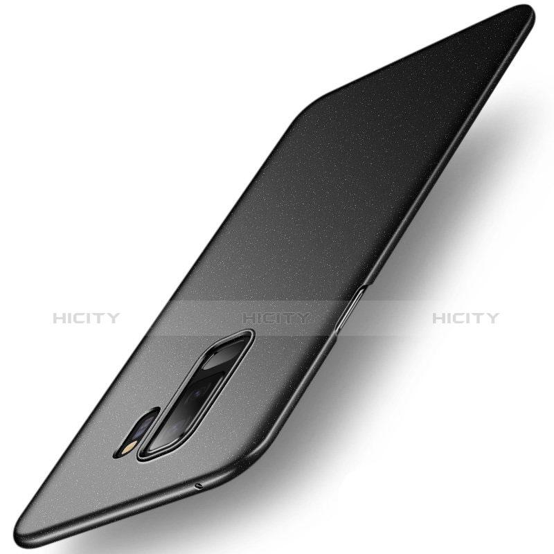 Handyhülle Hülle Kunststoff Schutzhülle Tasche Treibsand für Samsung Galaxy S9 Plus Schwarz Plus