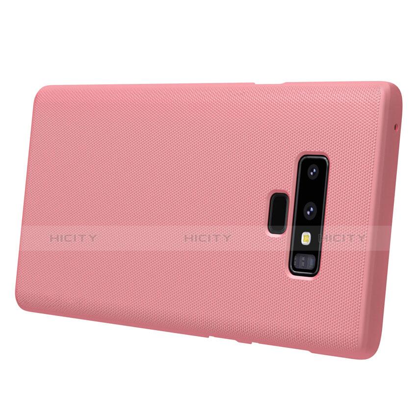 Handyhülle Hülle Kunststoff Tasche Matt M04 für Samsung Galaxy Note 9 Rosa groß