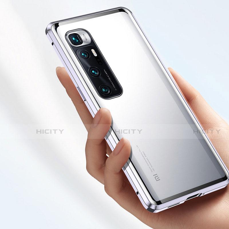 Handyhülle Hülle Luxus Aluminium Metall Rahmen Spiegel 360 Grad Ganzkörper Tasche M01 für Xiaomi Mi 10 Ultra groß