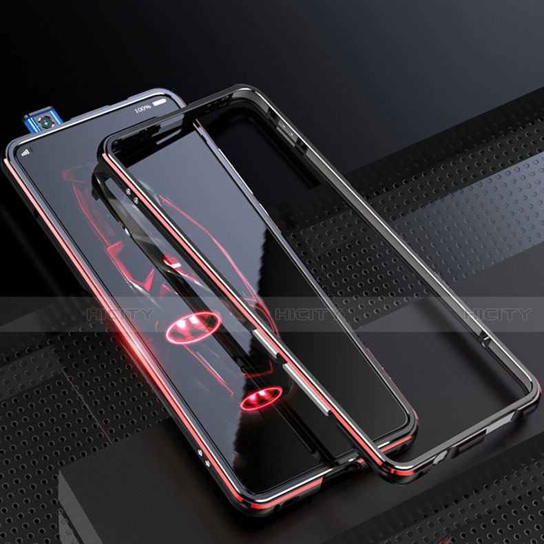 Handyhülle Hülle Luxus Aluminium Metall Rahmen Tasche für Xiaomi Mi 9T groß
