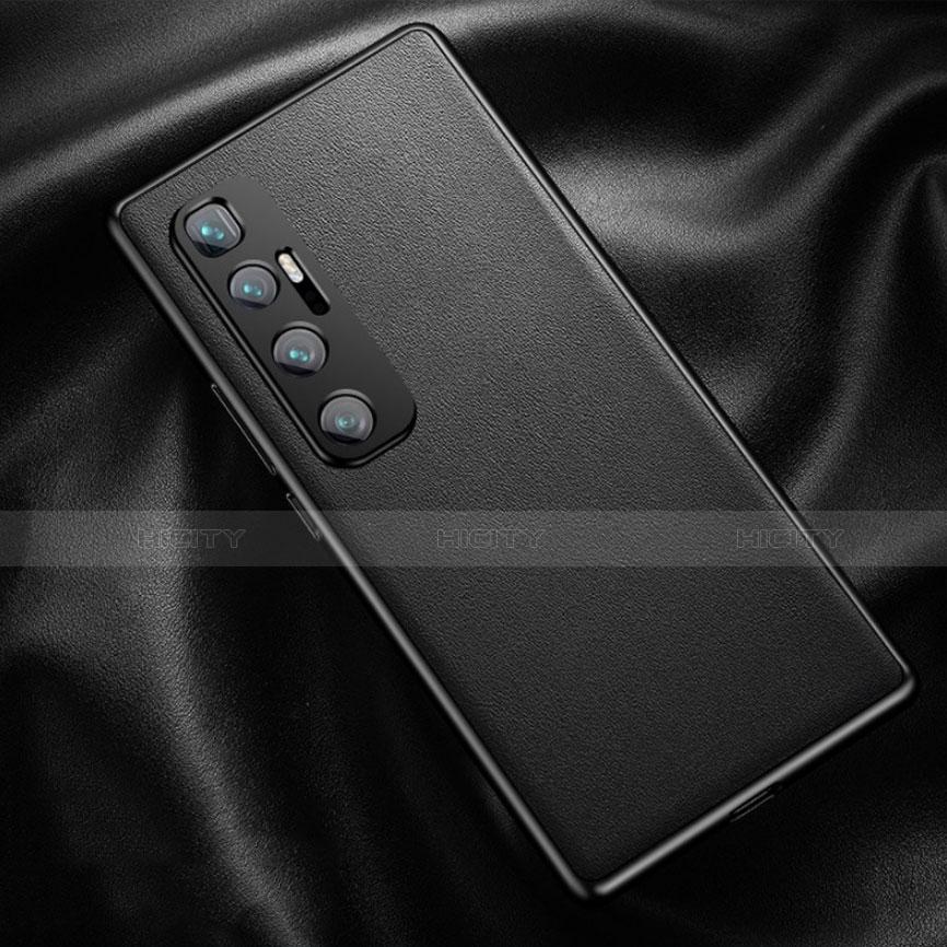 Handyhülle Hülle Luxus Leder Schutzhülle für Xiaomi Mi 10 Ultra Schwarz Plus