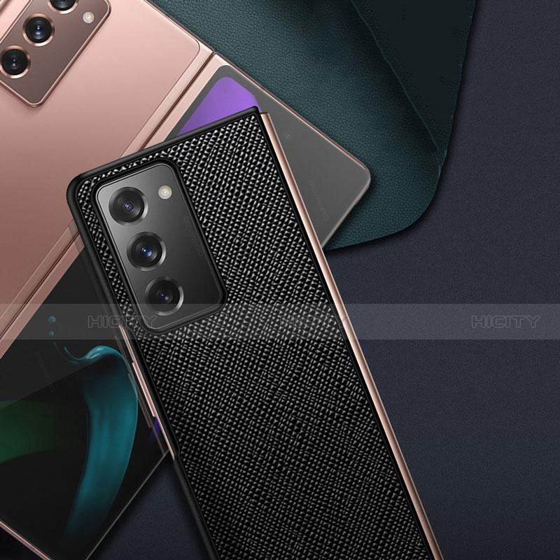 Handyhülle Hülle Luxus Leder Schutzhülle S01 für Samsung Galaxy Z Fold2 5G groß