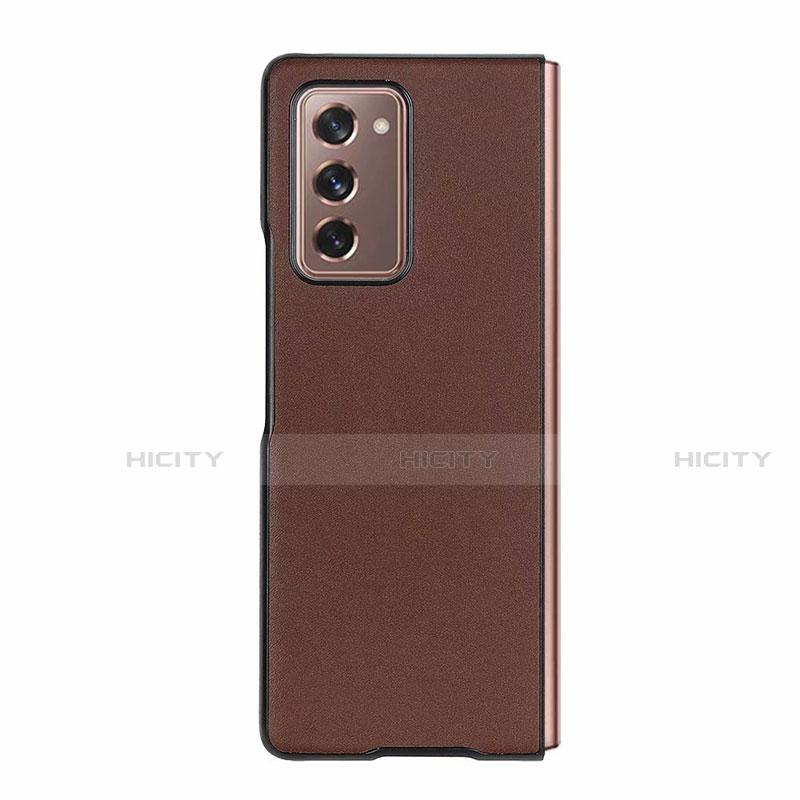 Handyhülle Hülle Luxus Leder Schutzhülle S03 für Samsung Galaxy Z Fold2 5G groß