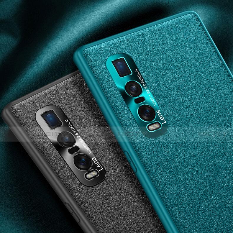 Handyhülle Hülle Luxus Leder Schutzhülle U01 für Oppo Find X2 Pro groß
