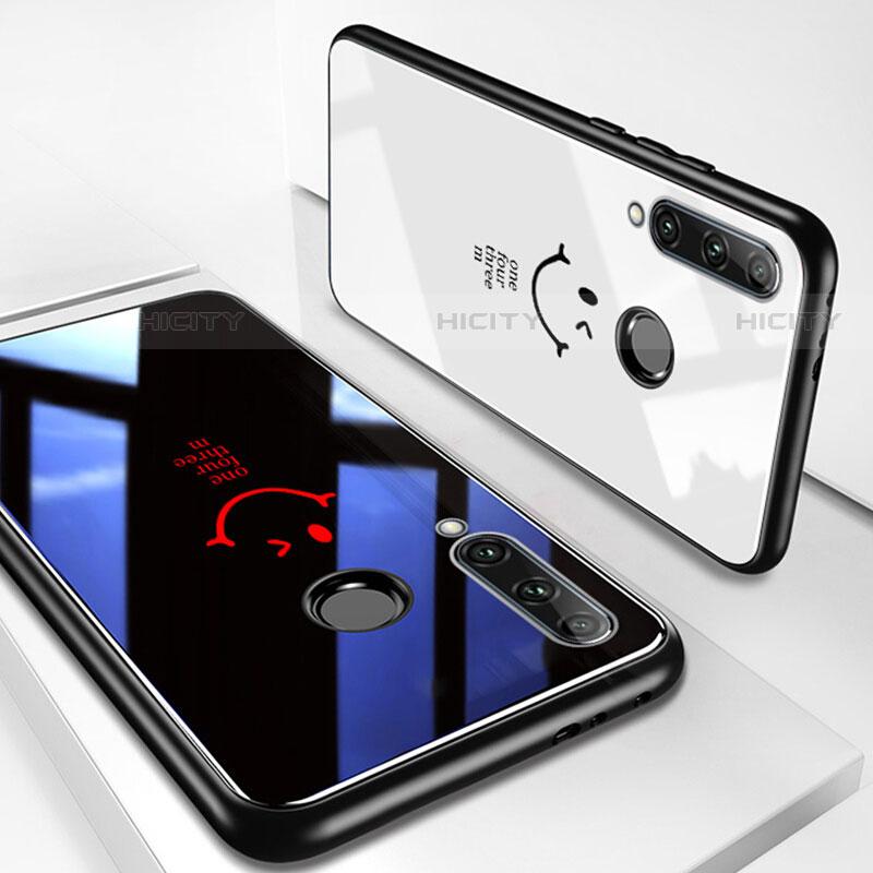 Handyhülle Silikon Hülle Rahmen Schutzhülle Spiegel Modisch Muster für Huawei Honor 20 Lite