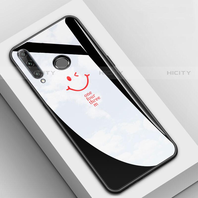 Handyhülle Silikon Hülle Rahmen Schutzhülle Spiegel Modisch Muster für Huawei Honor 20 Lite Schwarz Plus