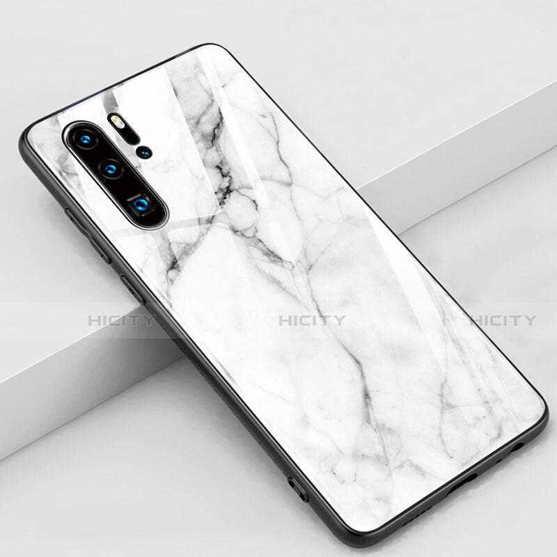 Handyhülle Silikon Hülle Rahmen Schutzhülle Spiegel Modisch Muster K03 für Huawei P30 Pro groß
