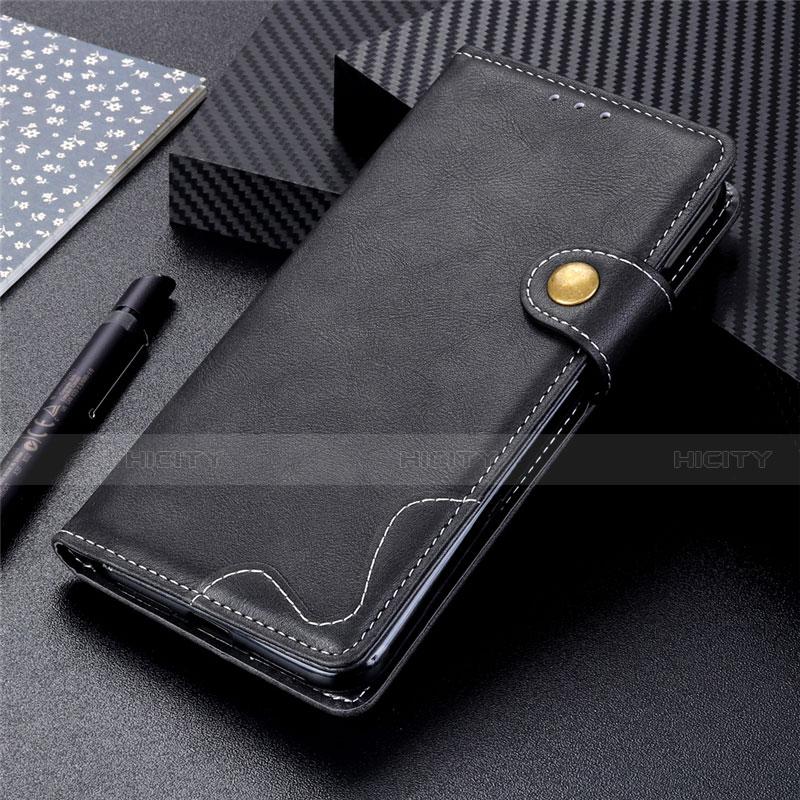 Handytasche Stand Schutzhülle Flip Leder Hülle für Motorola Moto G9 Plus Schwarz Plus