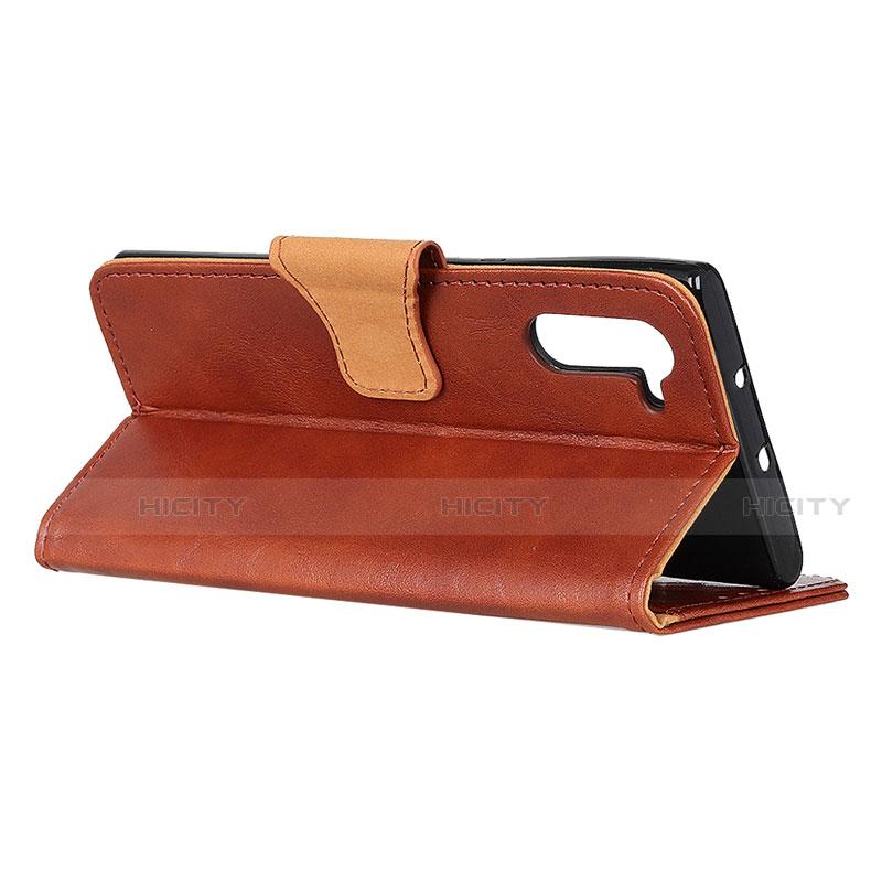 Handytasche Stand Schutzhülle Flip Leder Hülle für Oppo Reno3 A groß