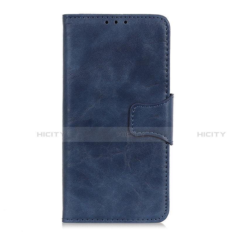Handytasche Stand Schutzhülle Flip Leder Hülle für Oppo Reno3 A Blau Plus