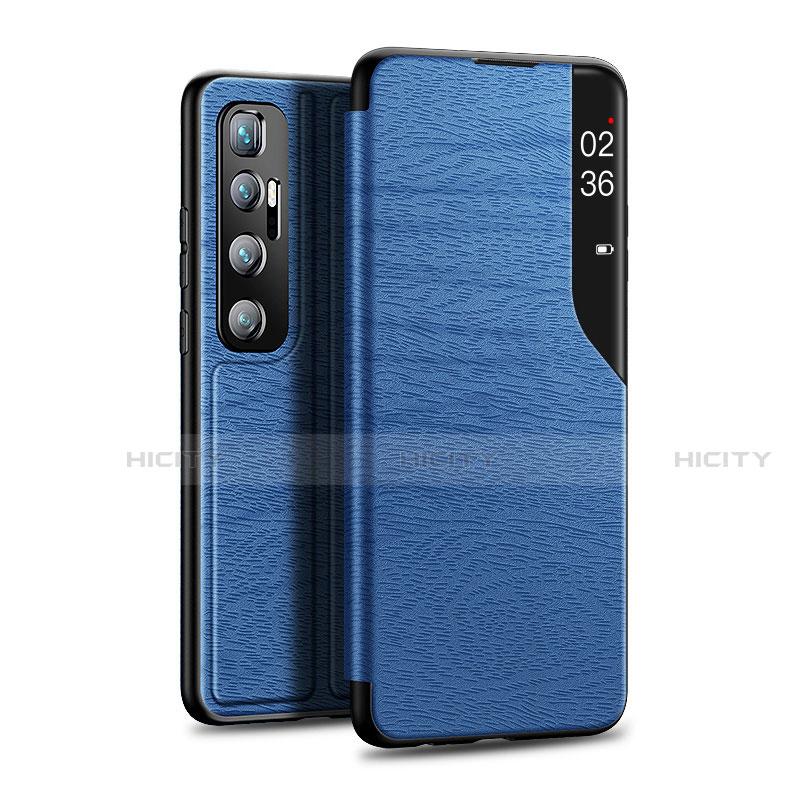 Handytasche Stand Schutzhülle Flip Leder Hülle für Xiaomi Mi 10 Ultra Blau Plus