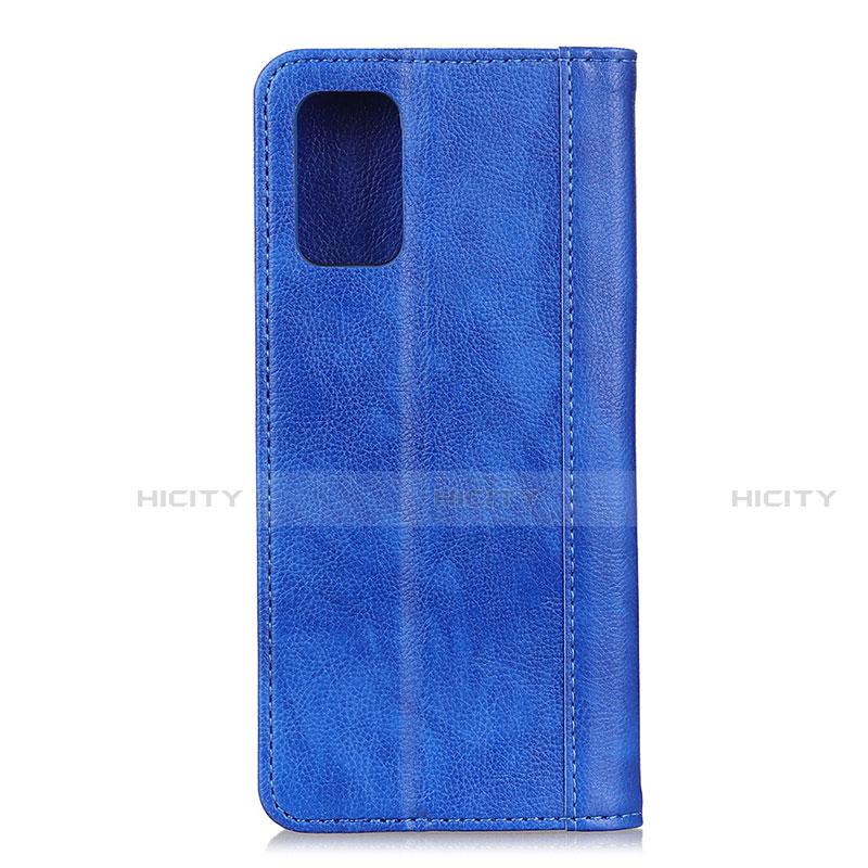 Handytasche Stand Schutzhülle Flip Leder Hülle L01 für Motorola Moto G9 Plus groß