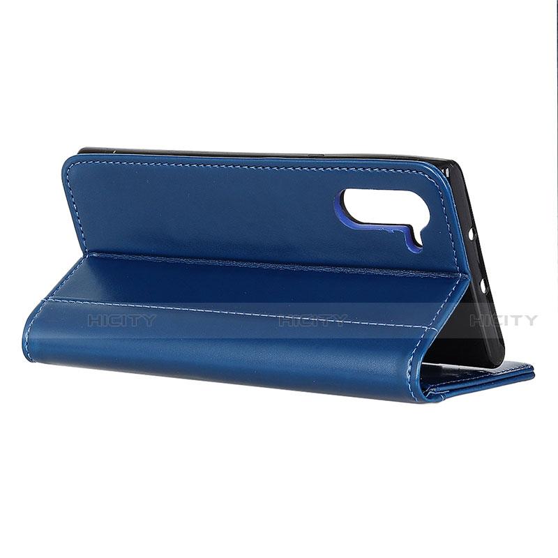 Handytasche Stand Schutzhülle Flip Leder Hülle L01 für Oppo Reno3 A groß