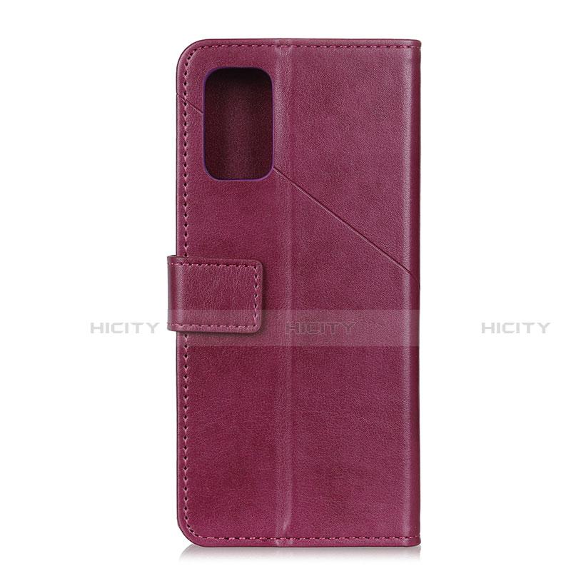 Handytasche Stand Schutzhülle Flip Leder Hülle L02 für Motorola Moto G9 Plus groß