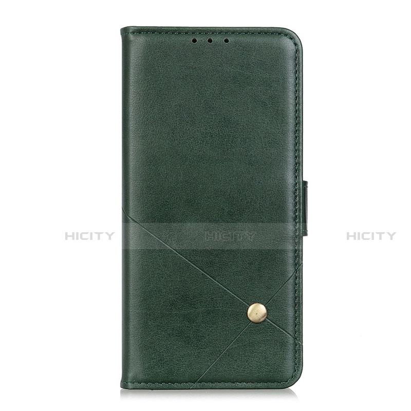 Handytasche Stand Schutzhülle Flip Leder Hülle L02 für Motorola Moto G9 Plus Grün Plus