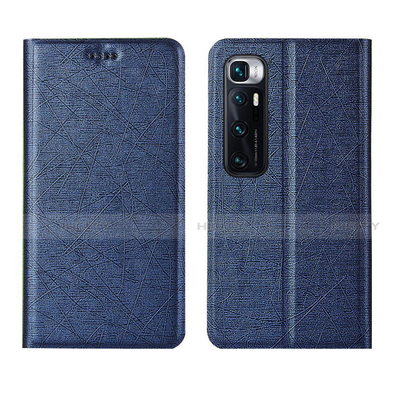 Handytasche Stand Schutzhülle Flip Leder Hülle L03 für Xiaomi Mi 10 Ultra Blau Plus