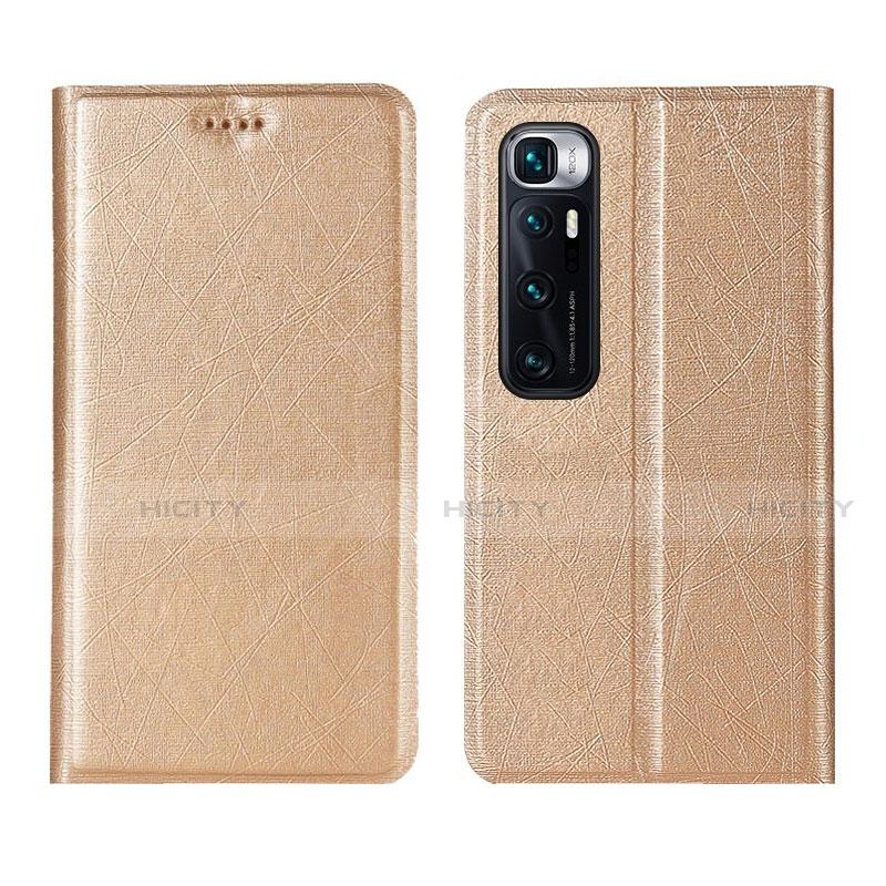 Handytasche Stand Schutzhülle Flip Leder Hülle L03 für Xiaomi Mi 10 Ultra Gold Plus