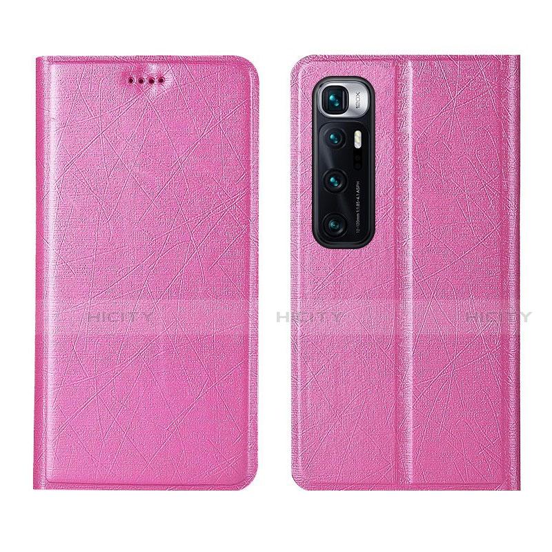 Handytasche Stand Schutzhülle Flip Leder Hülle L03 für Xiaomi Mi 10 Ultra Rosa Plus