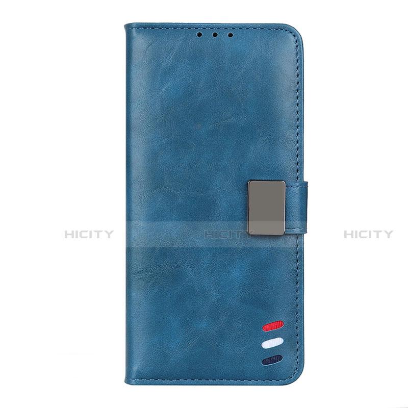 Handytasche Stand Schutzhülle Flip Leder Hülle L04 für Motorola Moto G9 Plus Blau Plus