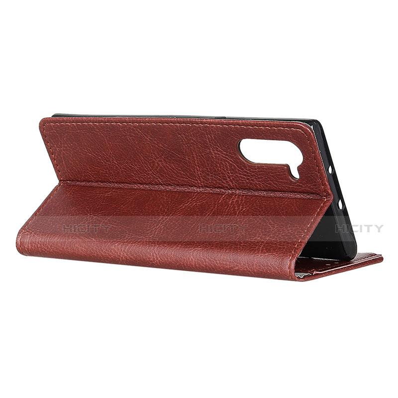 Handytasche Stand Schutzhülle Flip Leder Hülle L04 für Oppo Reno3 A groß
