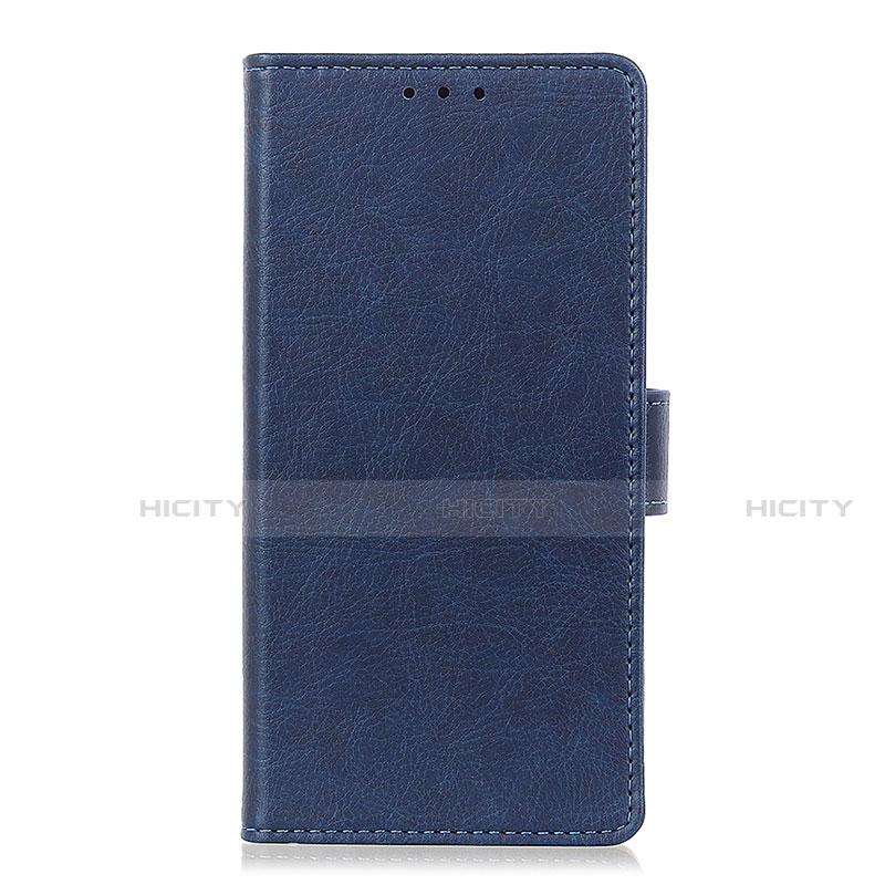 Handytasche Stand Schutzhülle Flip Leder Hülle L04 für Oppo Reno3 A Blau Plus