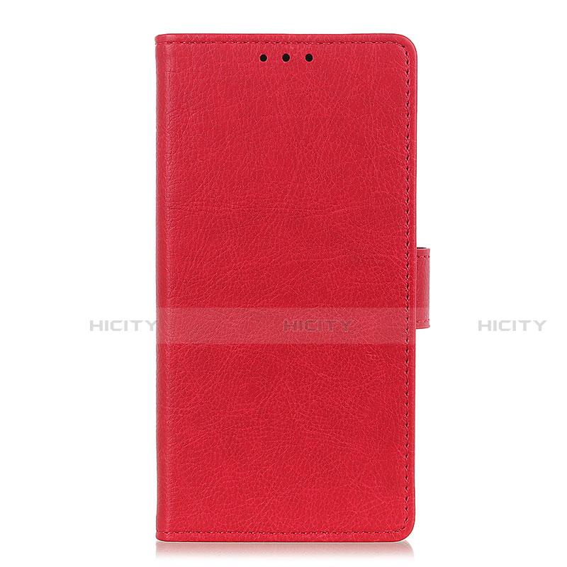 Handytasche Stand Schutzhülle Flip Leder Hülle L04 für Oppo Reno3 A Rot