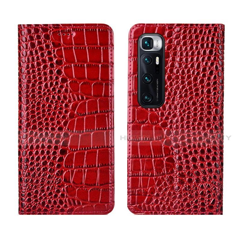 Handytasche Stand Schutzhülle Flip Leder Hülle L04 für Xiaomi Mi 10 Ultra Rot Plus