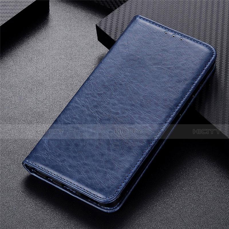 Handytasche Stand Schutzhülle Flip Leder Hülle L05 für Motorola Moto G9 Plus Blau Plus