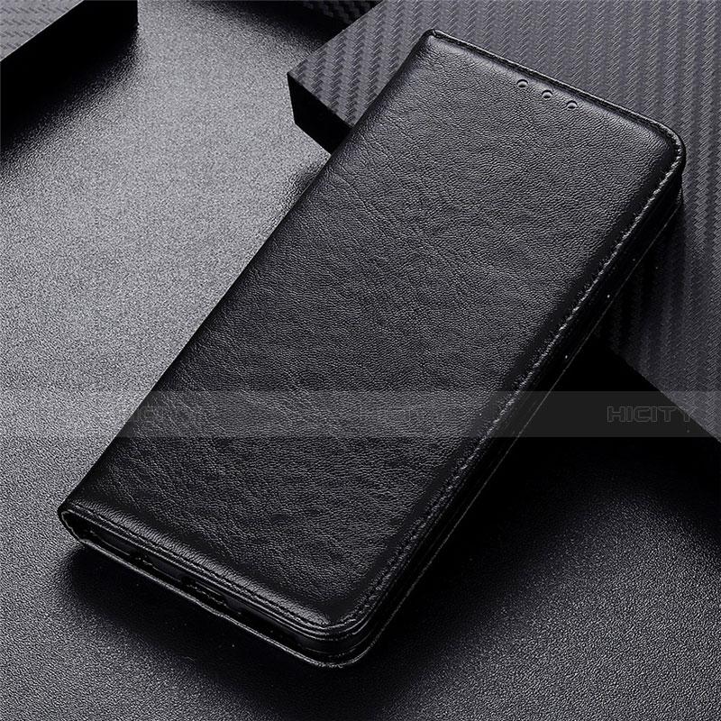 Handytasche Stand Schutzhülle Flip Leder Hülle L05 für Motorola Moto G9 Plus Schwarz Plus