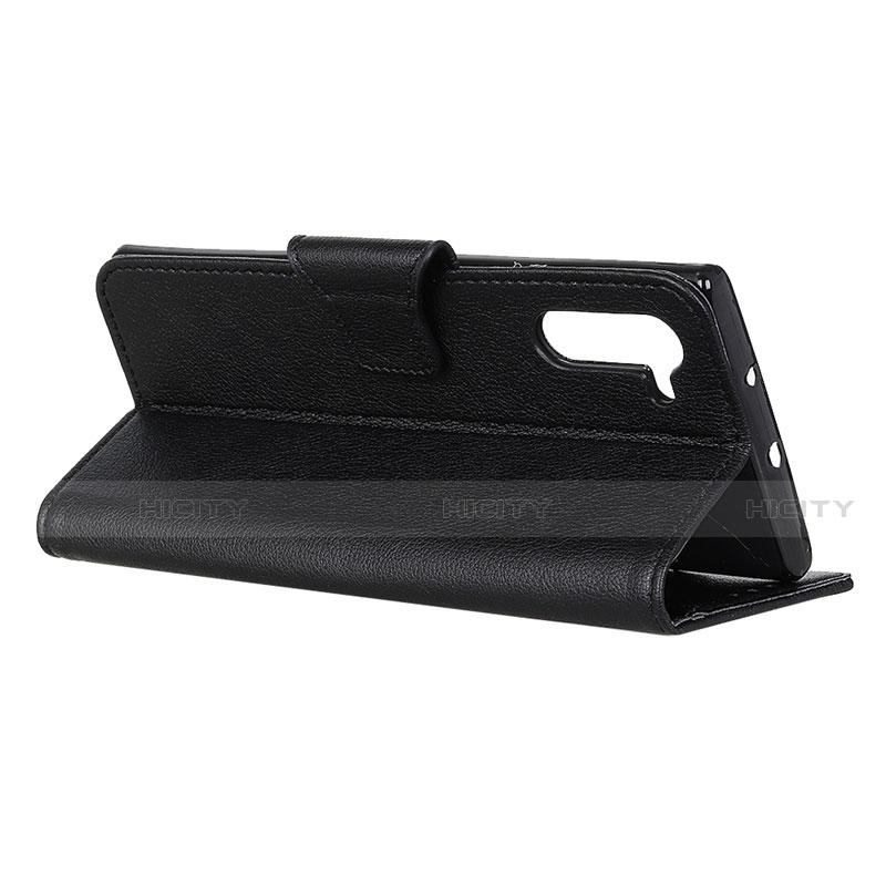 Handytasche Stand Schutzhülle Flip Leder Hülle L05 für Oppo Reno3 A groß