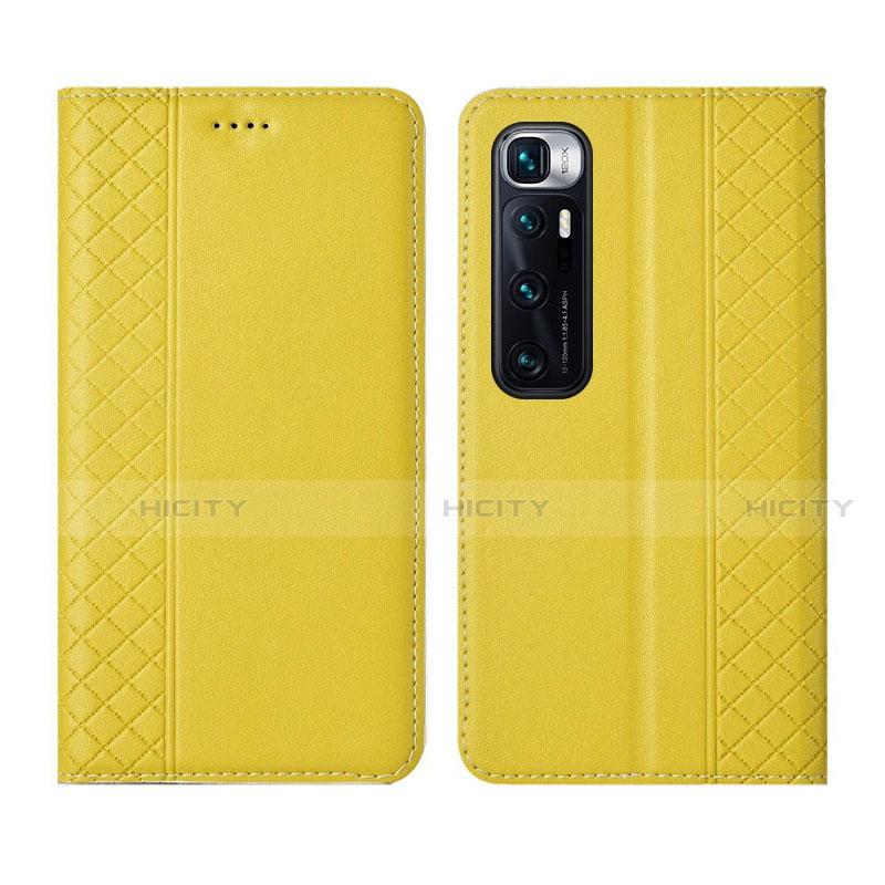 Handytasche Stand Schutzhülle Flip Leder Hülle L05 für Xiaomi Mi 10 Ultra Gelb Plus