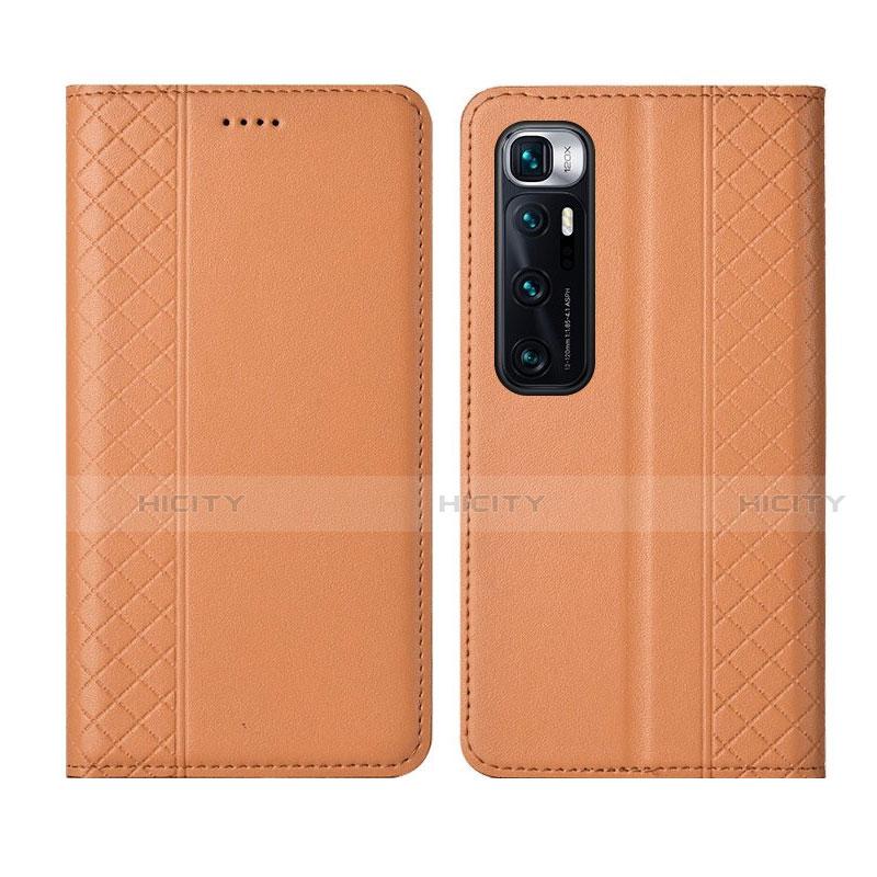 Handytasche Stand Schutzhülle Flip Leder Hülle L05 für Xiaomi Mi 10 Ultra Orange Plus
