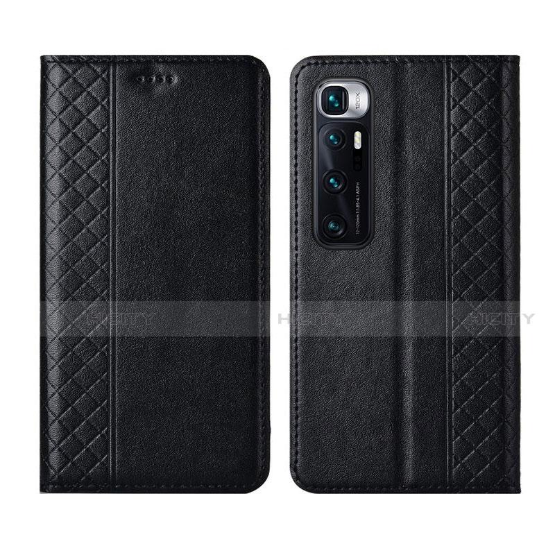 Handytasche Stand Schutzhülle Flip Leder Hülle L05 für Xiaomi Mi 10 Ultra Schwarz Plus