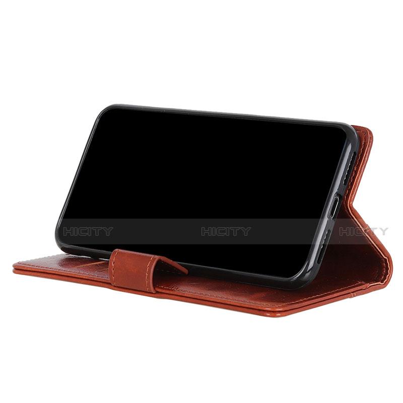 Handytasche Stand Schutzhülle Flip Leder Hülle L06 für Motorola Moto G9 Plus groß