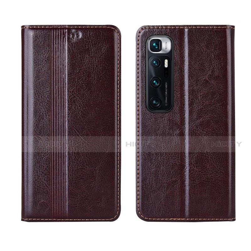 Handytasche Stand Schutzhülle Flip Leder Hülle L06 für Xiaomi Mi 10 Ultra Braun Plus