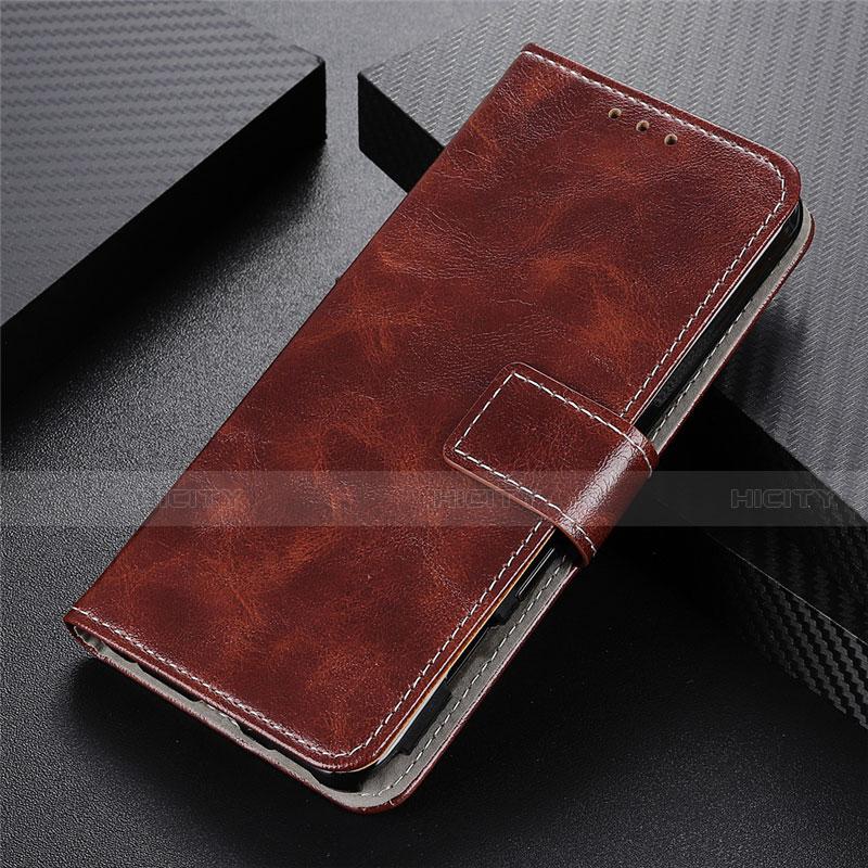 Handytasche Stand Schutzhülle Flip Leder Hülle L07 für Motorola Moto G9 Plus Braun Plus