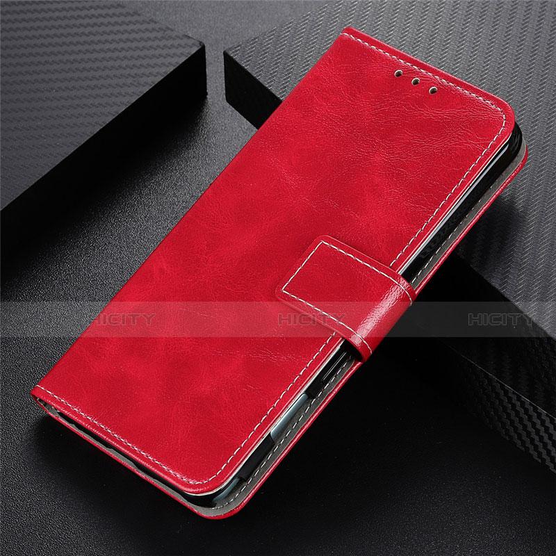 Handytasche Stand Schutzhülle Flip Leder Hülle L07 für Motorola Moto G9 Plus Rot Plus