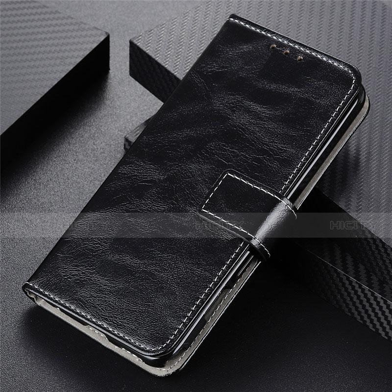 Handytasche Stand Schutzhülle Flip Leder Hülle L07 für Motorola Moto G9 Plus Schwarz