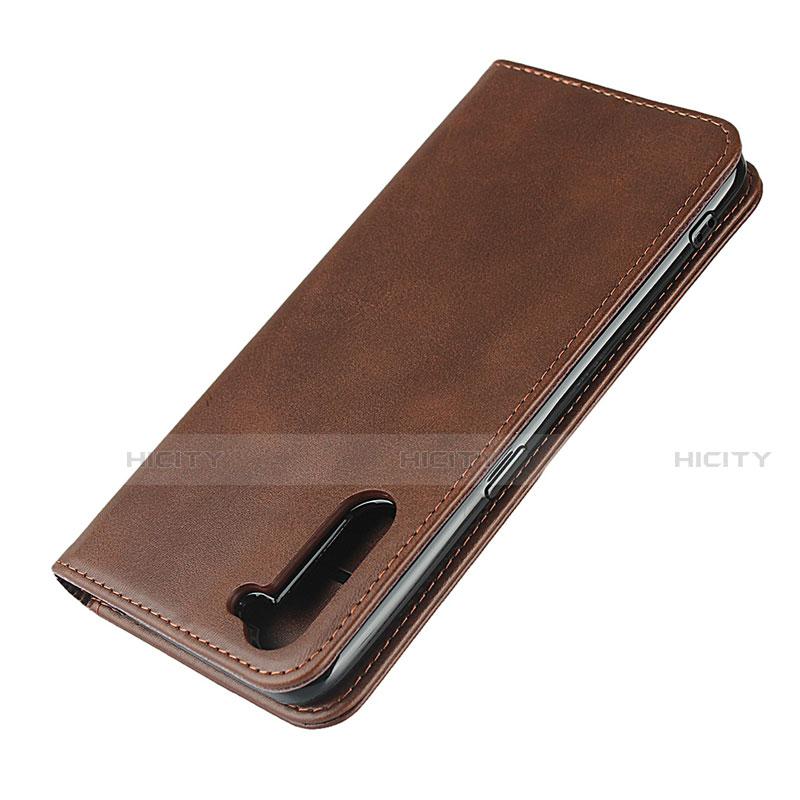 Handytasche Stand Schutzhülle Flip Leder Hülle L08 für Oppo Reno3 A groß