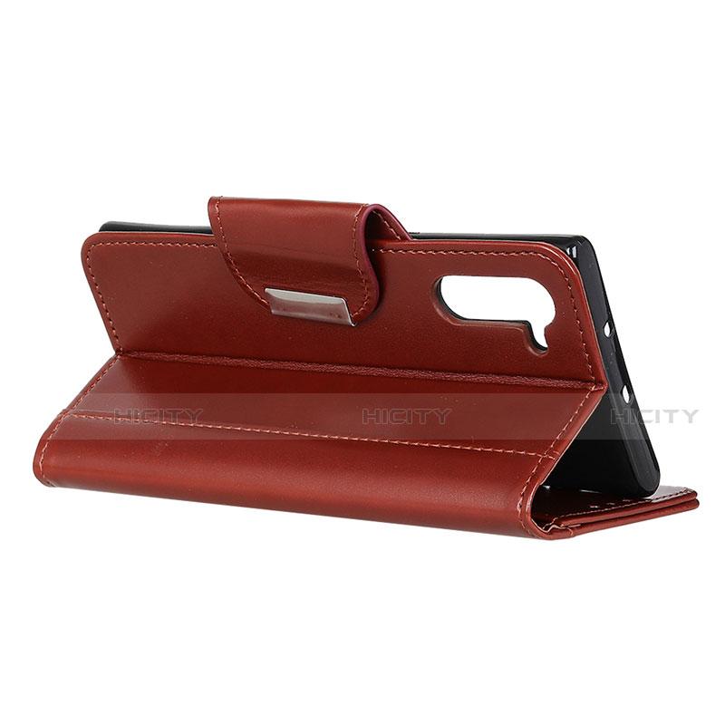 Handytasche Stand Schutzhülle Flip Leder Hülle L10 für Oppo Reno3 A groß