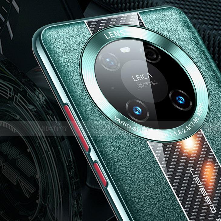 Handytasche Stand Schutzhülle Flip Leder Hülle T04 für Huawei Mate 40 Pro groß