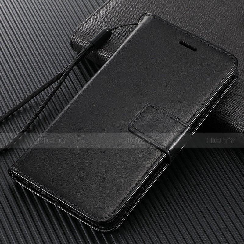 Handytasche Stand Schutzhülle Flip Leder Hülle T09 für Oppo Find X2 Pro Schwarz Plus