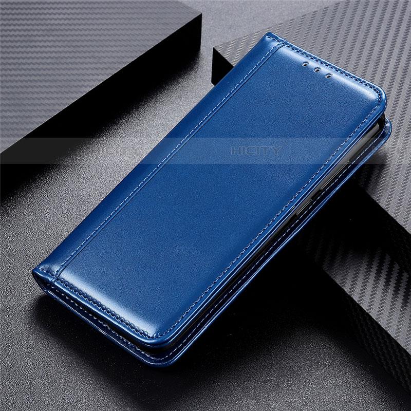 Handytasche Stand Schutzhülle Leder Hülle L02 für Oppo Find X2 Pro Blau Plus