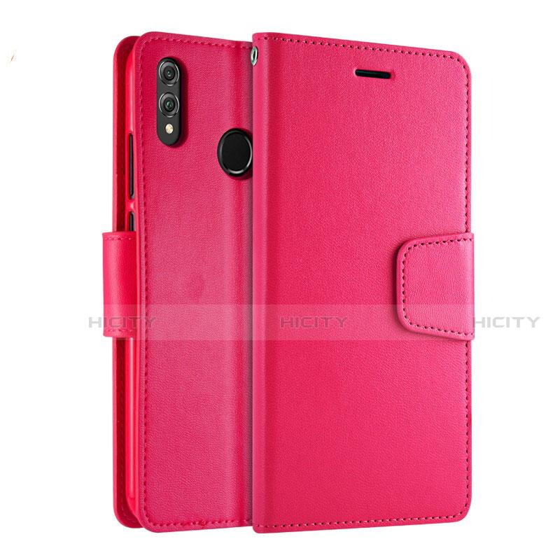 Handytasche Stand Schutzhülle Leder Hülle L03 für Huawei Honor 8X groß