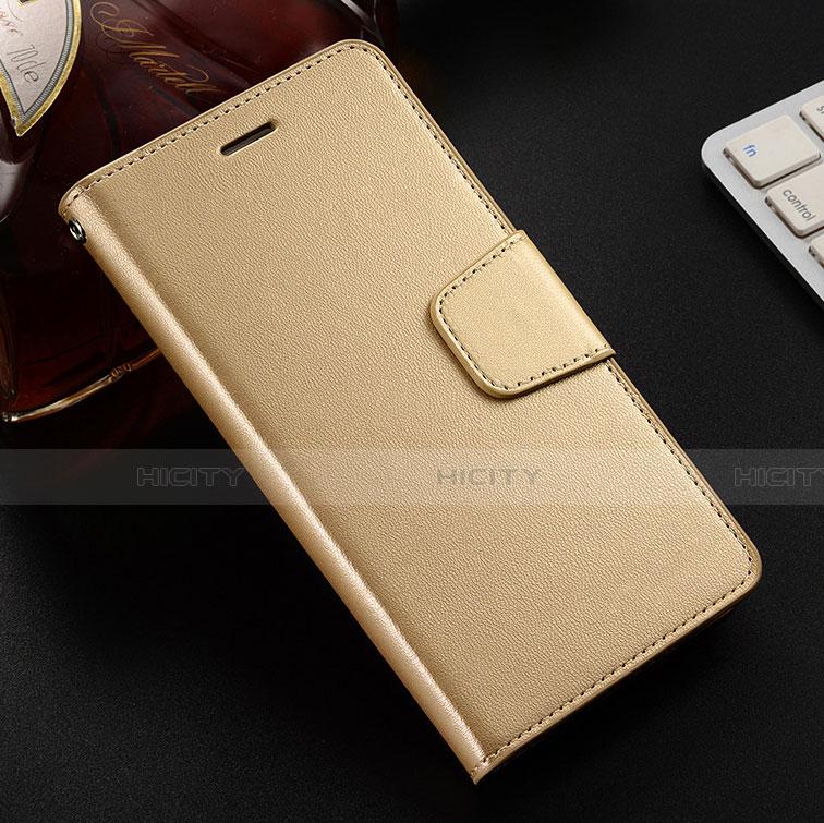 Handytasche Stand Schutzhülle Leder Hülle L03 für Huawei Honor 8X Gold Plus
