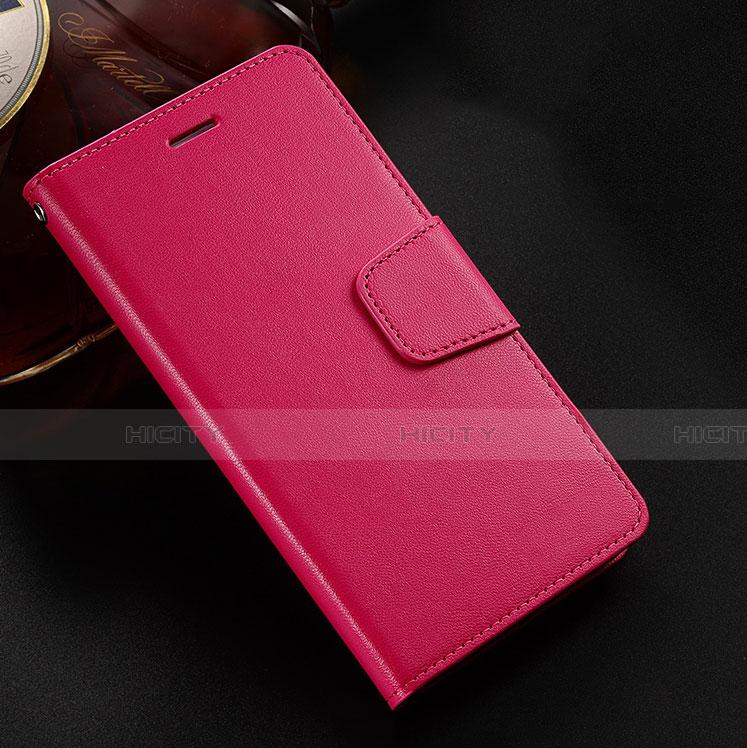 Handytasche Stand Schutzhülle Leder Hülle L03 für Huawei Honor 8X Rot Plus